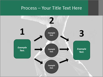 Silhouette of Martial Fighter PowerPoint Template - Slide 92