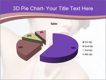 Woman and Creative Makeup PowerPoint Template - Slide 35