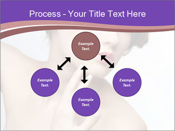 Woman and Creative Makeup PowerPoint Template - Slide 91
