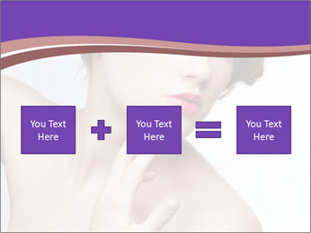 Woman and Creative Makeup PowerPoint Template - Slide 95