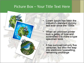 Road Conjunction in Miniature PowerPoint Templates - Slide 17