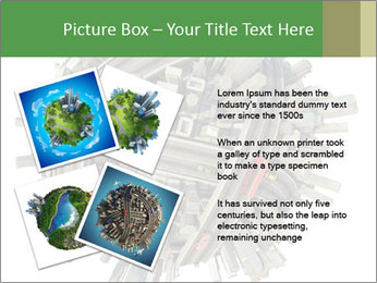 Road Conjunction in Miniature PowerPoint Templates - Slide 23