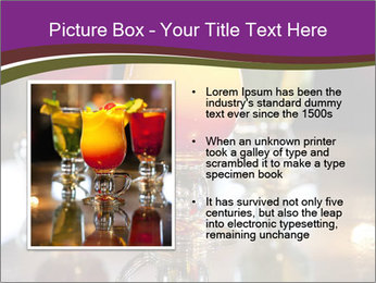 Drink Cocktails in Bar PowerPoint Template - Slide 13
