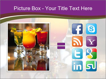 Drink Cocktails in Bar PowerPoint Template - Slide 21
