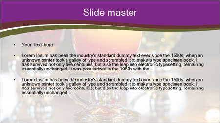 Drink Cocktails in Bar PowerPoint Template - Slide 2