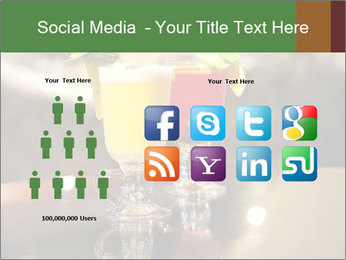 Cocktails Standing at Bar Stand PowerPoint Template - Slide 5