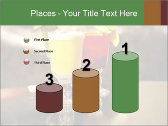 Cocktails Standing at Bar Stand PowerPoint Template - Slide 65