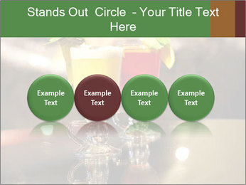 Cocktails Standing at Bar Stand PowerPoint Template - Slide 76