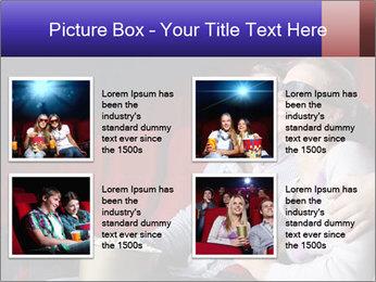 Couple Loves 3D Cinema PowerPoint Template - Slide 14