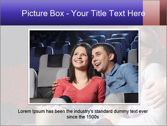 Couple Loves 3D Cinema PowerPoint Template - Slide 15