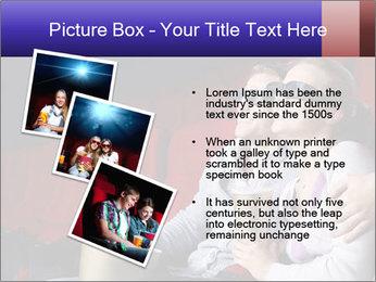 Couple Loves 3D Cinema PowerPoint Template - Slide 17