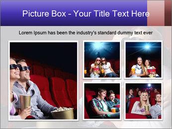 Couple Loves 3D Cinema PowerPoint Template - Slide 19