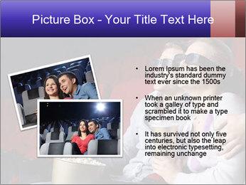 Couple Loves 3D Cinema PowerPoint Template - Slide 20