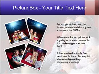 Couple Loves 3D Cinema PowerPoint Template - Slide 23