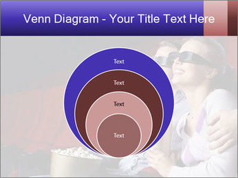 Couple Loves 3D Cinema PowerPoint Template - Slide 34