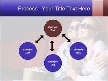 Couple Loves 3D Cinema PowerPoint Template - Slide 91