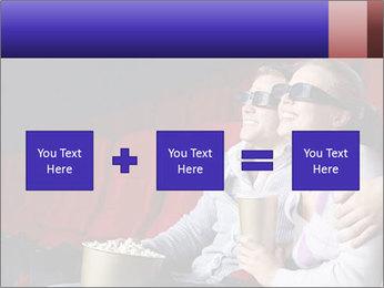 Couple Loves 3D Cinema PowerPoint Template - Slide 95