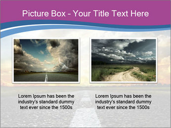 Road and Golden Sky PowerPoint Template - Slide 18