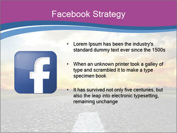 Road and Golden Sky PowerPoint Template - Slide 6