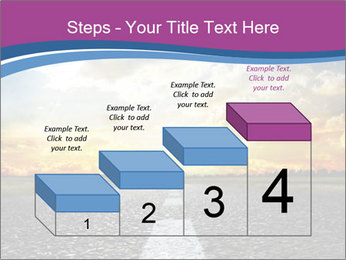 Road and Golden Sky PowerPoint Template - Slide 64