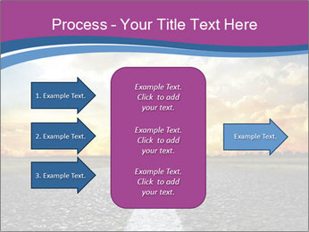 Road and Golden Sky PowerPoint Template - Slide 85