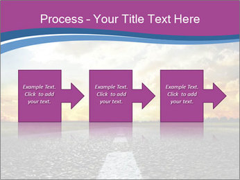 Road and Golden Sky PowerPoint Template - Slide 88