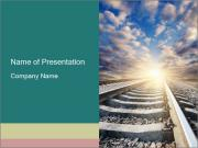 Light and Railway PowerPoint Templates