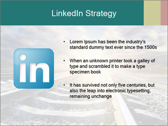 Light and Railway PowerPoint Template - Slide 12