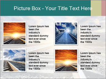 Light and Railway PowerPoint Template - Slide 14