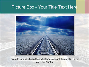 Light and Railway PowerPoint Template - Slide 15