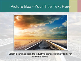 Light and Railway PowerPoint Template - Slide 16