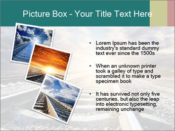 Light and Railway PowerPoint Template - Slide 17