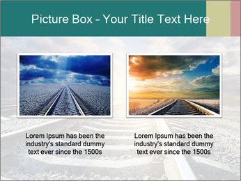 Light and Railway PowerPoint Template - Slide 18