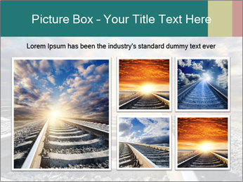 Light and Railway PowerPoint Template - Slide 19