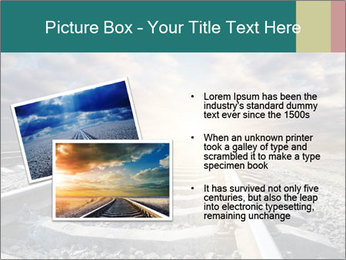 Light and Railway PowerPoint Template - Slide 20