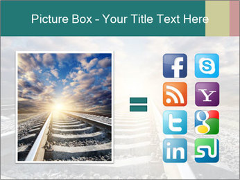 Light and Railway PowerPoint Template - Slide 21