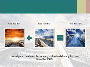 Light and Railway PowerPoint Template - Slide 22