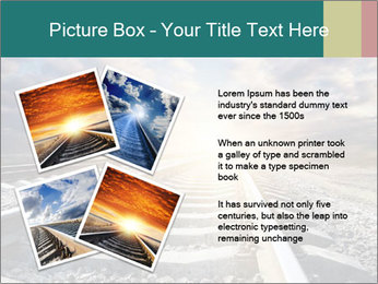 Light and Railway PowerPoint Template - Slide 23