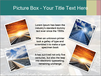 Light and Railway PowerPoint Template - Slide 24