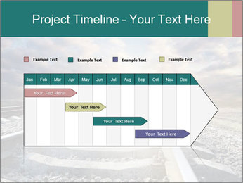 Light and Railway PowerPoint Template - Slide 25