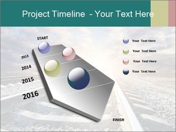 Light and Railway PowerPoint Template - Slide 26