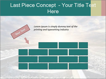 Light and Railway PowerPoint Template - Slide 46