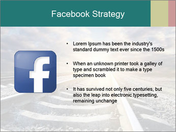 Light and Railway PowerPoint Template - Slide 6