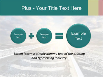 Light and Railway PowerPoint Template - Slide 75