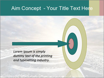 Light and Railway PowerPoint Template - Slide 83