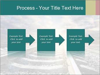 Light and Railway PowerPoint Template - Slide 88