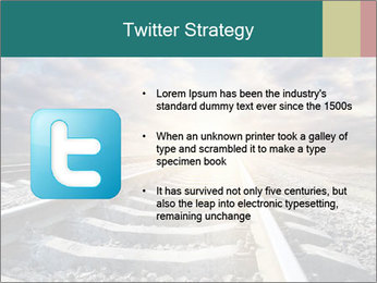 Light and Railway PowerPoint Template - Slide 9