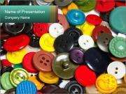 Dressmaking Items PowerPoint Templates