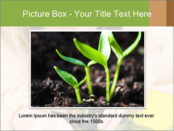 Woman Taking Care About Plants PowerPoint Template - Slide 15