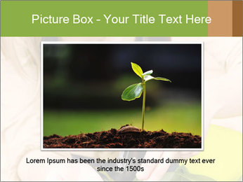 Woman Taking Care About Plants PowerPoint Template - Slide 16